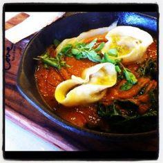 Minestrone, Ham Hock Tortellini, Cavolo Nero, Smoked Tomato Broth http://ow.ly/bapqs