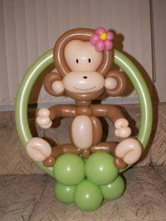cute balloon monkey