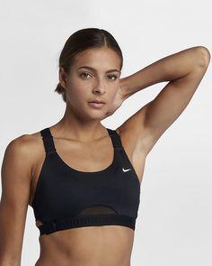 a90f706fb0b8e Nike Infinity Women s Medium Support Sports Bra Travel Workout