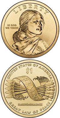 Special Sacajawea coin.
