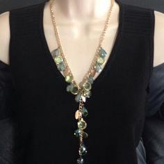 """Selling this """"SUPER Sparkly Y Necklace"""" in my Poshmark closet! My username is: mtnoonan. #shopmycloset #poshmark #fashion #shopping #style #forsale #Jewelry"""