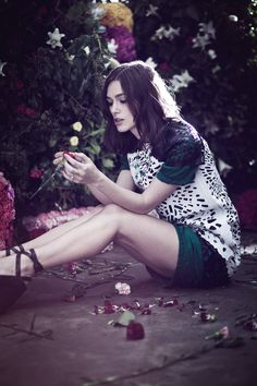 Keira Knightley by Emily Hope for #Rika SS, 2013