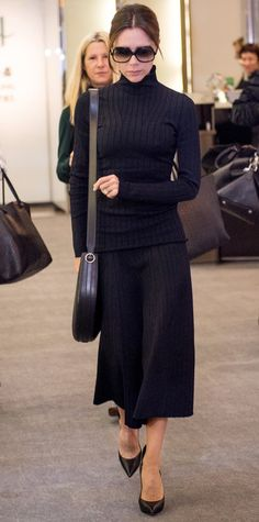 Look of the Day - Victoria Beckham - from InStyle.com