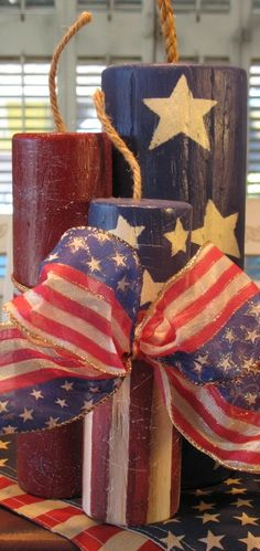 Let the celebration begin with a BANG! Or whatever sound big wooden firecrackers make!