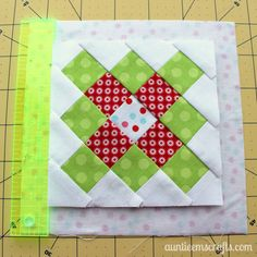 Mini Granny Square Ornament and Coaster Tutorial  AuntieEmsCrafts.com