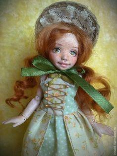 Коллекционные куклы ручной работы. Ярмарка Мастеров - ручная работа. Купить Марта. Handmade. Рыжий, флюмо
