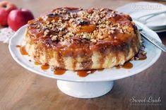 Jablková torta s karamelom