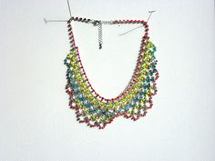 Dannijo Inspired bib - This is a Forever 21 rhinestone necklace & nail polish.  Easy & cool.