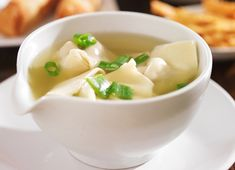 Chinese Dumplings, Dumplings For Soup, Soup Recipes, Healthy Recipes, Soup Appetizers, Asian Soup, My Best Recipe, Chinese Food, Food Inspiration