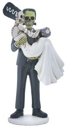 Frankenstein Halloween Wedding Cake topper Bride for sale online Fall Wedding, Dream Wedding, Wedding Ideas, Wedding Stuff, October Wedding, Wedding Decorations, Wedding Planning, Wedding Crafts, Wedding Humor