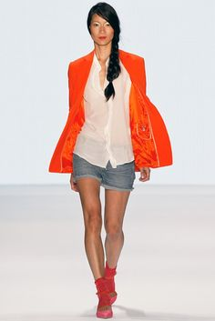Marc Cain RTW Spring 2014 [Photo by Getty Images for Mercedes-Benz Fashion Week Berlin]