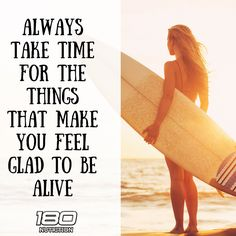 Always take time for the things you love. www.180nutrition.com.au