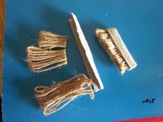 DIY bristle scrub brush or mop