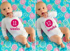 """Amazing """"photo shoot"""" idea for baby! So creative!"""