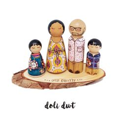 Beautiful, highly detailed wooden family portraits. A unique and unusual gift for mothers day, fathers day, birthdays, anniversaries and Christmas. Pegdolls gifts & Wedding Cake toppers: personalised gifts to be treasured Wedding Cake Toppers, Wedding Cakes, Unusual Gifts, Hand Coloring, Fathers Day Gifts, Personalized Gifts, Wedding Gifts, Birthdays, Wood Slices