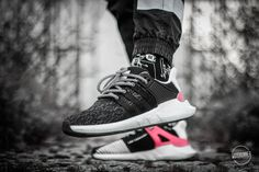 Adidas EQT Support 93/17 - Turbo Red/Black - 2017 (by Jan Hünniger)