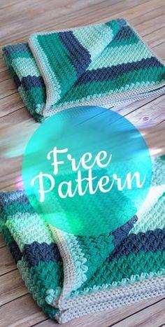 Legume Lagoon Blanket pattern