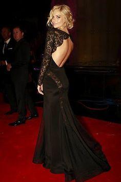Samara Weaving's gorgeous black lace dress she wore to this year's Logies.