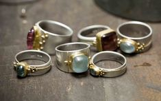 Regina Imbsweiler jewelry - Studio Photos #goldsmith