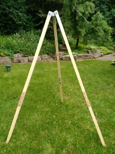 Portable Hammock, Diy Hammock, Hammock Chair Stand, Swinging Chair, Wood Projects, Woodworking Projects, Paver Fire Pit, Backyard Patio, Backyard Ideas