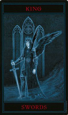 The Gothic Tarot ► King of Swords