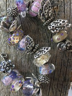 Designed by Heidi at Swiss Flower and Gift Cottage  #elfbeads #trollbeads  Shop from live images at  http://www.swissflowerandgift.com/