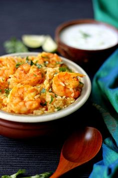 Prawns are a favourite amongst many, I am no exception! I have always wanted to make a good prawn pulao that was simple enough to make with very basic ingredients. I always prefer to use whatever's at hand than having to buy fancy ingredients. Yes, if there is a biryani being made then I do...