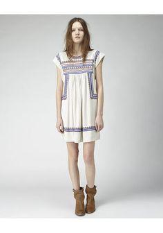 Étoile Isabel Marant | Demma Embroidered Dress | La Garçonne