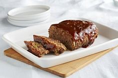 "Tasty barbecue meatloaf, ready in 24 minutes—no catch! Take it from this fan: ""I was doubtful about a microwave meatloaf. Very pleased with the outcome."""