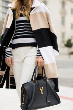 Stripe Over Stripe - Gal Meets Glam