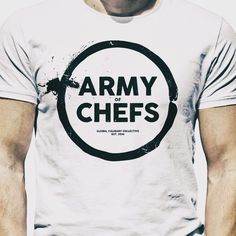 New Shirt available today. What do you think?  Get our shirts at armyofchefs.com (link in bio) - we ship world wide. ------------------------ #foodart #foodphoto #foodphotography #hipsterfoodofficial #foodphotographer #goodlife #delicious #instafood #instagourmet #gourmet #theartofplating #gastronomy #foodporn #foodism #foodgasm #plating #f52grams #vsco_food  #photooftheday #hautecuisines #backtoblack #knife #skills #fashion #screenprint #print #tshirt #chefs #culinary #collective