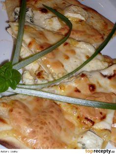 Rychlá pizza Pizza, Chorizo, Quiche, Camembert Cheese, Cooking Recipes, Hamburger, Chicken, Program, Food