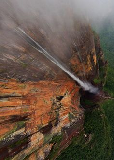 Angel Falls...could this be Paradise Falls from UP?!?!