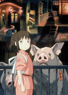 Spirited Away- Hayao Miyazaki. I never realized how disturbing this film was. I used to love it when I was REALLY young. Haven't seen it in years, I  want to watch it again to see how messed up it is.