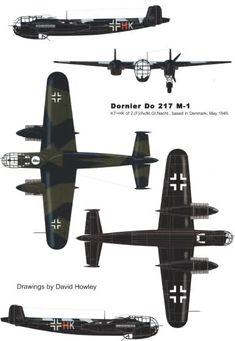 El Dornier Do 217 fue un bombardero usado por Alemania durante la Segunda Guerra Mundial. Fue diseñado para reemplazar al Dornier Do 17.A comienzos de 1938, Dornier inició la fabricación de la especificación No. 1323, que reconocía la necesidad de un bombardero bimotor que pudiera usarse como avión de reconocimiento de largo alcance motorizado por dos motores Daimler-Benz DB 601B. Dornier reconoció los defectos del r...