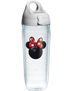 Tervis Disney Minnie Mouse Sequins Water Bottle: Each tumbler features double-wall insulation that keeps hot drinks hot and cold drinks cold. Tervis has been proudly made in America since 1946 and features a lifetime guarantee. Disney Water Bottle, 24 Oz Water Bottle, Fancy Water Bottles, Mickey Mouse Kitchen, Disney Kitchen, Monogram Water Bottle, Minnie Mouse, Disney Cups, Walmart