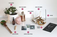 Not sure how to set up your altar? Check out this easy reference guide | Rogue Wood Supply
