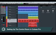 Cubase Quick Tips - Setting Up The Control Room in Cubase Pro