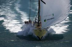 Tall Ships and Sailing Volvo Ocean Race, Sailboat Racing, Row Row Your Boat, Sport Boats, Sail Away, Set Sail, Wooden Boats, Tall Ships, Melbourne Australia