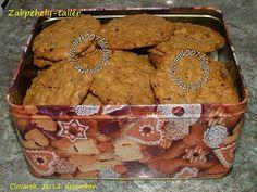 FőzőCICke, de okosan!: Zabpehely-tallér Muffin, Cookies, Baking, Breakfast, Health, Desserts, Foods, Drink, Crack Crackers