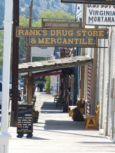 Virginia City, Montana - National Historic Landmark