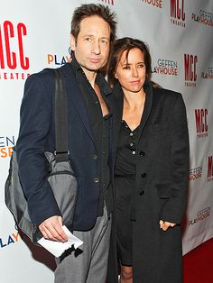 David Duchovny and Téa Leoni Are Divorcing - PEOPLE MAGAZINE #DavidDuchovny, #TeaLeoni