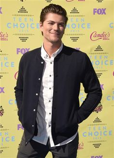 """""""Scream"""" actor Amadeus Serafini attends the 2015 Teen Choice Awards at the Galen Center in Los Angeles on Aug. 16, 2015."""