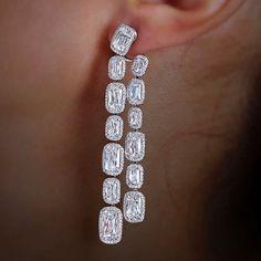William Goldberg Diamonds. #ASHOKAdiamond Earrings