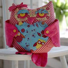 Betsy Owl Cushion