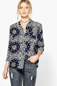 boohoo Printed Viscose Shirt - navy DZZ61417 Codie Printed Viscose Shirt - navy http://www.MightGet.com/january-2017-13/boohoo-printed-viscose-shirt--navy-dzz61417.asp