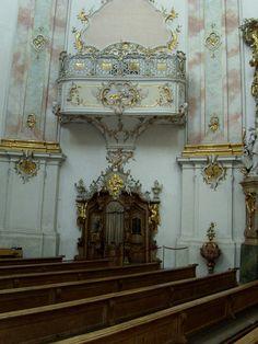 Basilika Ettal - Beichtstuhl