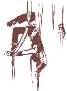 drawing aerial silks - Google zoeken