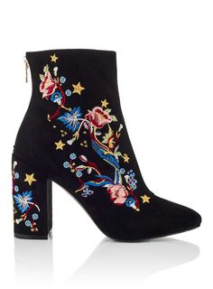 ATHENS Embroidered Boots