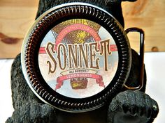 Beer Belt Buckle Southern Tier Brewing Sonnet by BrewPaw on Etsy, $28.99